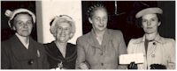 image of Meg McSpeerin at 2CH Women's League function 1950s