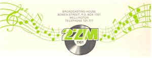 image of NZ Radio, 2ZM Wellington
