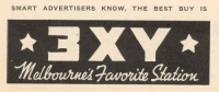 image of 3XY Melbourne promotion 1939