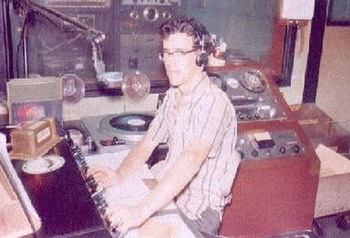image of Brother Dave on the air, September 16, 1966
