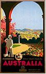 Canberra Travel Poster, early 1930's