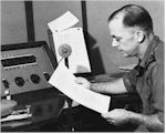 image of Geoffrey Norton reading the news at 9PA Port Moresby