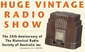 image of Historical Radio Society of Australia poster
