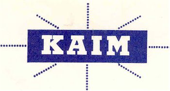 image of Hawaii Radio Station KAIM letterhead