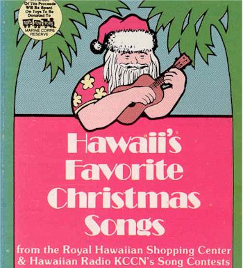 image of Hawaii's Favorite Christmas Songs album cover
