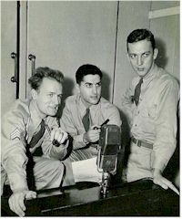 radio history image of US Forces Broadcast From 4QR Brisbane