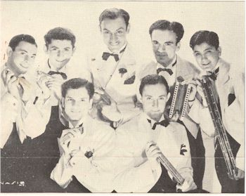 radio history image of the Harmonica Lads on WLW