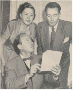 image of 'Pete' Lyon, Grace Gibson, Charles Tingwell.