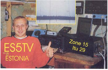 image of Tonno Vahk ES5TV, Jogeva, Estonia