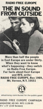 image of Radio Free Europe ad