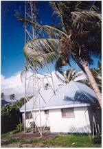 Christian Radio Laufou studios and tower, Apia