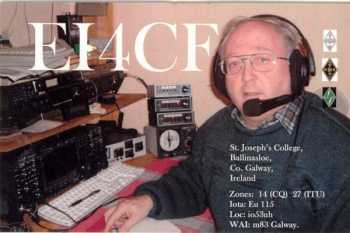 image of Niall Foley EI4CF, Ballinasloe, Co.Galway, Ireland