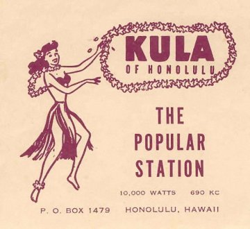 Image of KULA hula girl