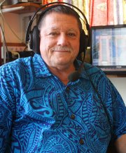 Foss Leach of Radio Ngakuta Bay 88.4FM