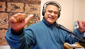 Tama Ohi FM station manager Keith Moala