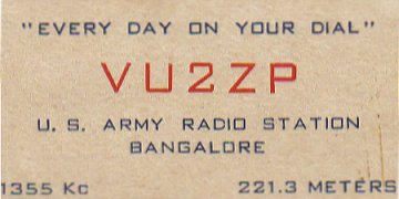 VU2ZP Business Card