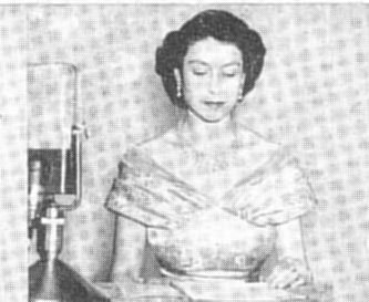 Queen Elizabeth II on the air 1952