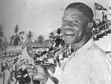 Edmund Fo, football commentator for Radio Dar es Salaam