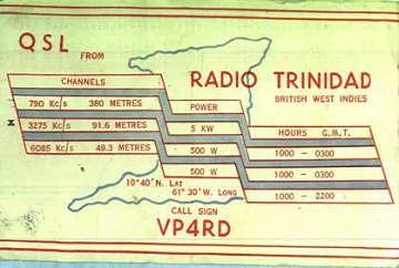 Radio Trinidad, British West Indies