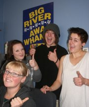 Big River FM interns