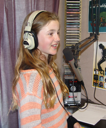 Announcer Lilly Gentile