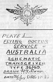 RFDS tx plate