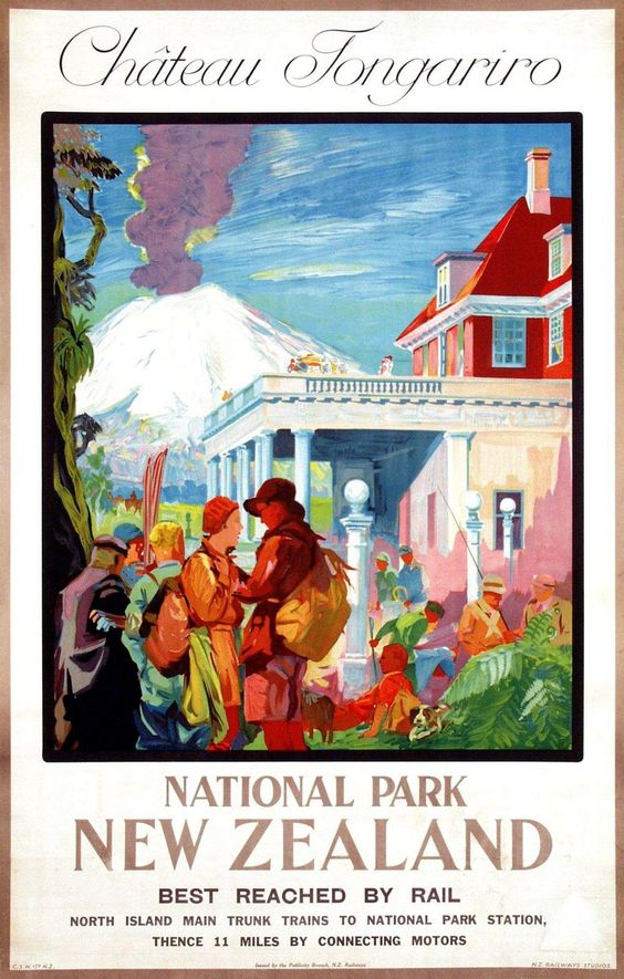 1930s National Park poster