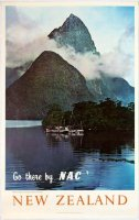 Early Milford Sound poster