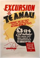 Early Te Anau poster