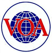 VOA sticker