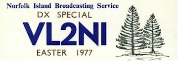 image of VL2NI QSL Card