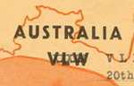 image of First QSL card issued for VLX2 Wanneroo in 1949. <br>© Cleve