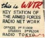 image of WVTR Listener QSL card [front]