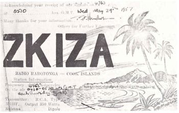 image of Radio Station ZL1ZA QSL