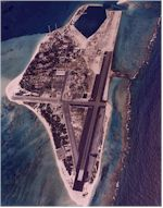 Aerial photo of Midway Island