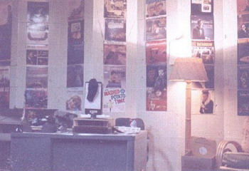 image of Dave Perkins desk at KMTH