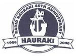 image of Radio Hauraki 40th Anniversary Logo