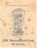 image of 1ZR Auckland, detail from Lewis Eady letterhead