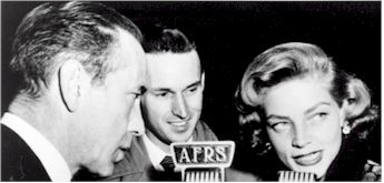 image of Jack Brown interview Humphrey Bogart and Lauren Bacall
