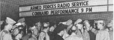 image of AFRS Command Performance at CBS studios