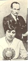 image of Aimee Semple McPherson and Kenneth G. Ormiston