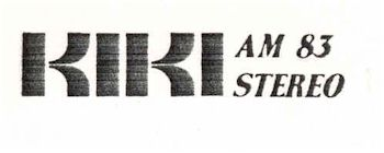 image of Hawaii Radio Station KIKI letterhead