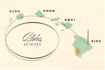 image of Hawaii Radio Station KIPA letterhead detail