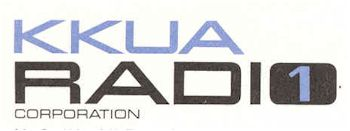 image of Hawaii Radio Station KKUA letterhead