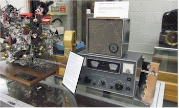 image of Library of American Broadcasting vintage radio equipment