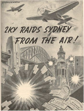 image of 2KY Raids Sydney from the Air.
