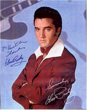 image of Elvis Presley autograph