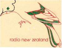 image of NZ Radio, Radio New Zealand birdcard