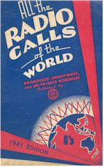 image of All the Radio Calls of the World 1941 Edition