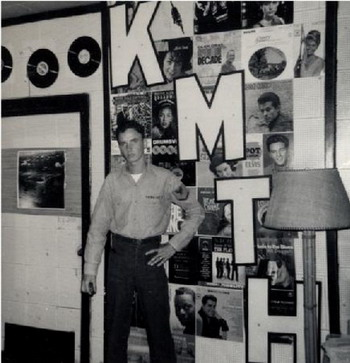 image of Roger Perkins in the KMTH offices